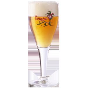Brugse Zot Stemmed Beer Glass