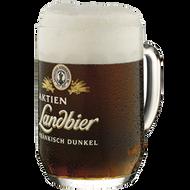 Aktien Landbier Glass Stein