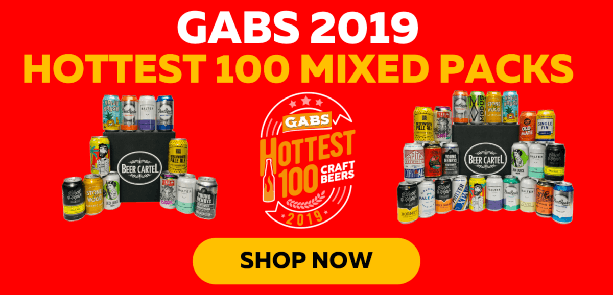 GABS Hottest 100 Mixed Pack