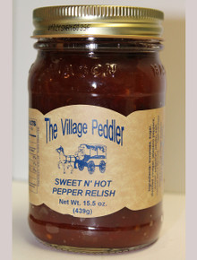 Sweet N' Hot Pepper Relish