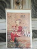"Vintage - Carl Larsson ""Painting"" Lisbeth"