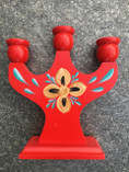 Vintage - Candle Holder red