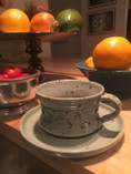 Vintage - Handmade Tea Cup with saucer