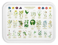 "Vintage - Tray ""Swedish Flowers"""