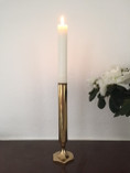 Vintage - Skultuna Candle Holder in Brass