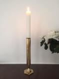 Vintage - Skultuna Candle Holder in Brass