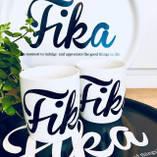 I Love Design - FIKA Mug White