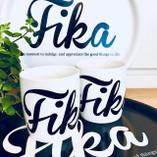 I Love Design - FIKA Mug White