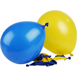 Ballons - Blue and Yellow