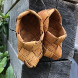 Vintage -  Decoration shoes made of Birch