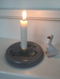 Vintage -  Wooden Candle Holder Nils Olsson