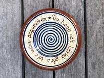 Vintage - Tro, hopp och kärlek bowl