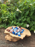 Vintage - Handcrafted Wooden Bowl by P. Varg