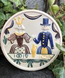 Vintage - Ceramic Plate, Nittsjö Sweden