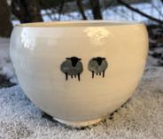 Vintage - Handmade Ceramic Bowl from Gotland