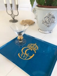 Vintage - Swedish Breakfast Tray with Royal Monogram