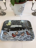 Vintage - Breakfast Tray signed by Eskers Marie Persson