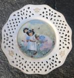 Vintage - Jenny Nyström Plate
