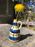 Vintage - Handpainted vase from Nittsjö