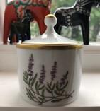 Vintage - Hackefors Porcelain Jar