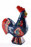 Nils Olsson Hemslöjd - Dala Rooster Blue, 11 cm
