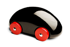 Playsam Streamliner Car Black