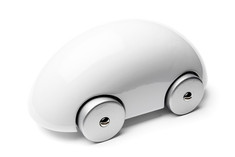 Playsam Streamliner Car White