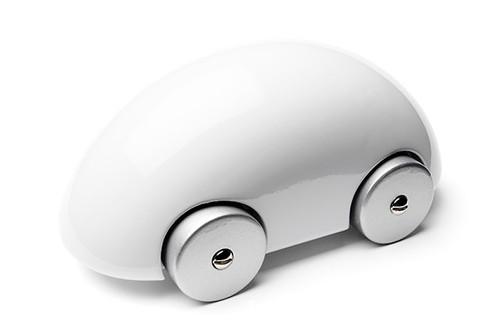 Playsam Streamliner Car White