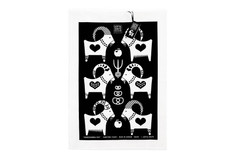 Lotta Spjute Design - The Christmas Goat Tea Towel