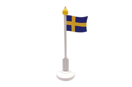 Larsson Trä - Wooden Swedish Flag