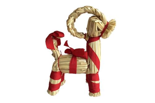 Hemslöjdsprodukter - Straw Goat