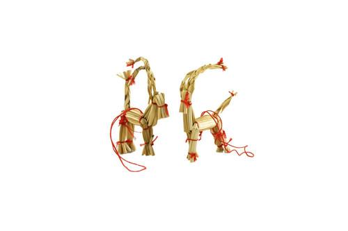 Hemslöjdsprodukter - Straw Goat Decoration