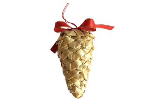 Hemslöjdsprodukter - Straw Cone Decoration