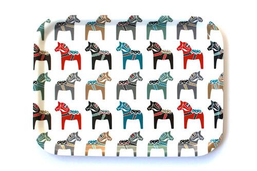 I Love Design - Dala Horse Tray