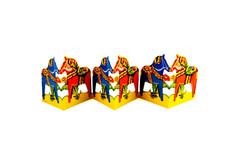 Grannas - Dala Horse Table Decoration