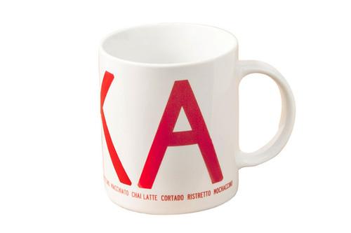I Love Design - FIKA Mug Red