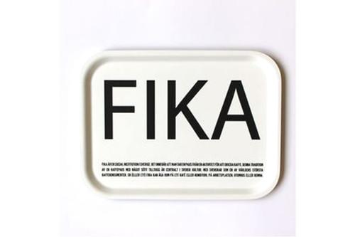 I Love Design - FIKA Tray White