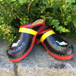 Skåne Toffeln - Handpainted Clogs
