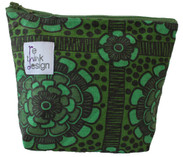 ReThink Design - Toiletry Bag Green Flowers Small