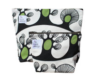 ReThink Design - Toiletry Bags Set Black and Green