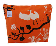 ReThink Design - Toiletry Bag Orange Flower Large
