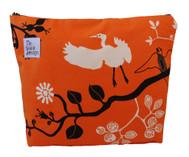 ReThink Design - Toiletry Bag Orange Flower Large