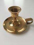 Vintage - Candle Light Holder in Brass