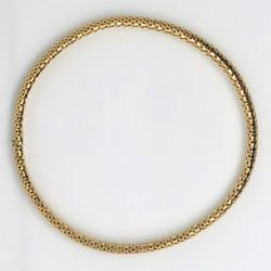 Antique English 18 Karat Gold Snake Chain