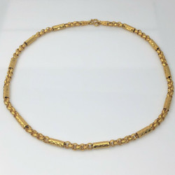 Finely-Made Sterling Vermeil Chain