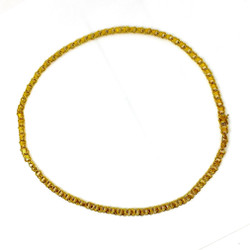 Antique Gold Filled Necklace, Circa 1930.