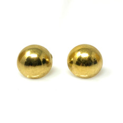 Antique American 14 Karat Gold Ball Earrings
