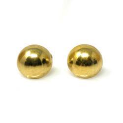 Antique American 14 Karat Gold Ball Earrings