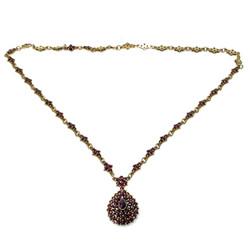 Fine Garnet Necklace