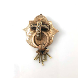 Antique American 14 Karat Pin